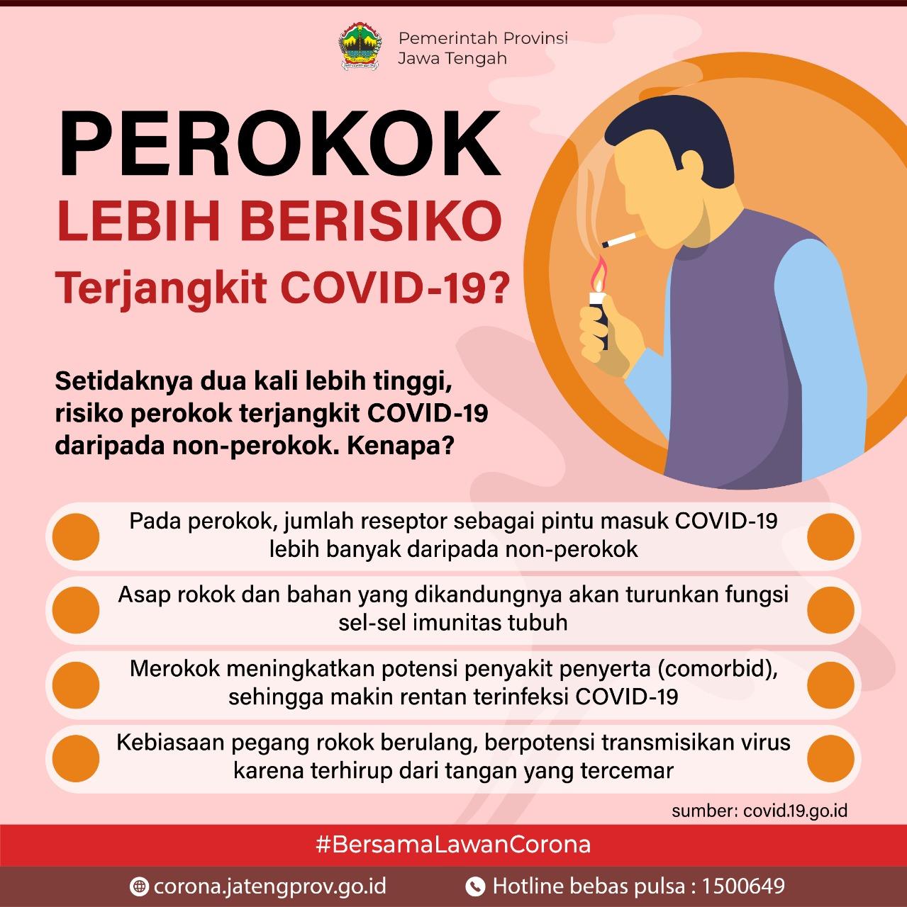 Perokok Lebih Berisiko