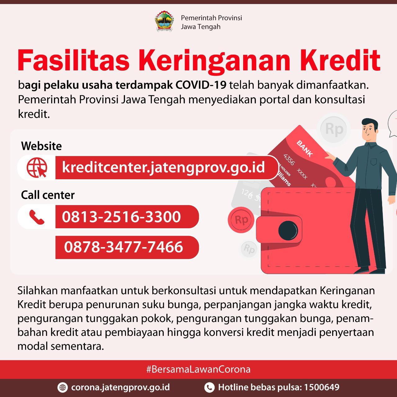 Fasilitas Keringanan Kredit