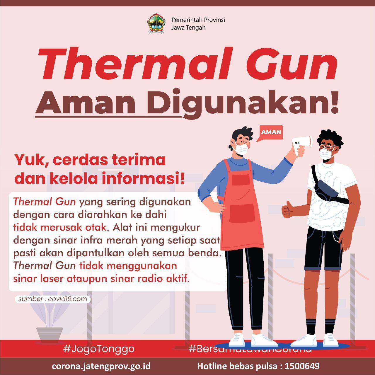 Thermal Gun Aman Digunakan