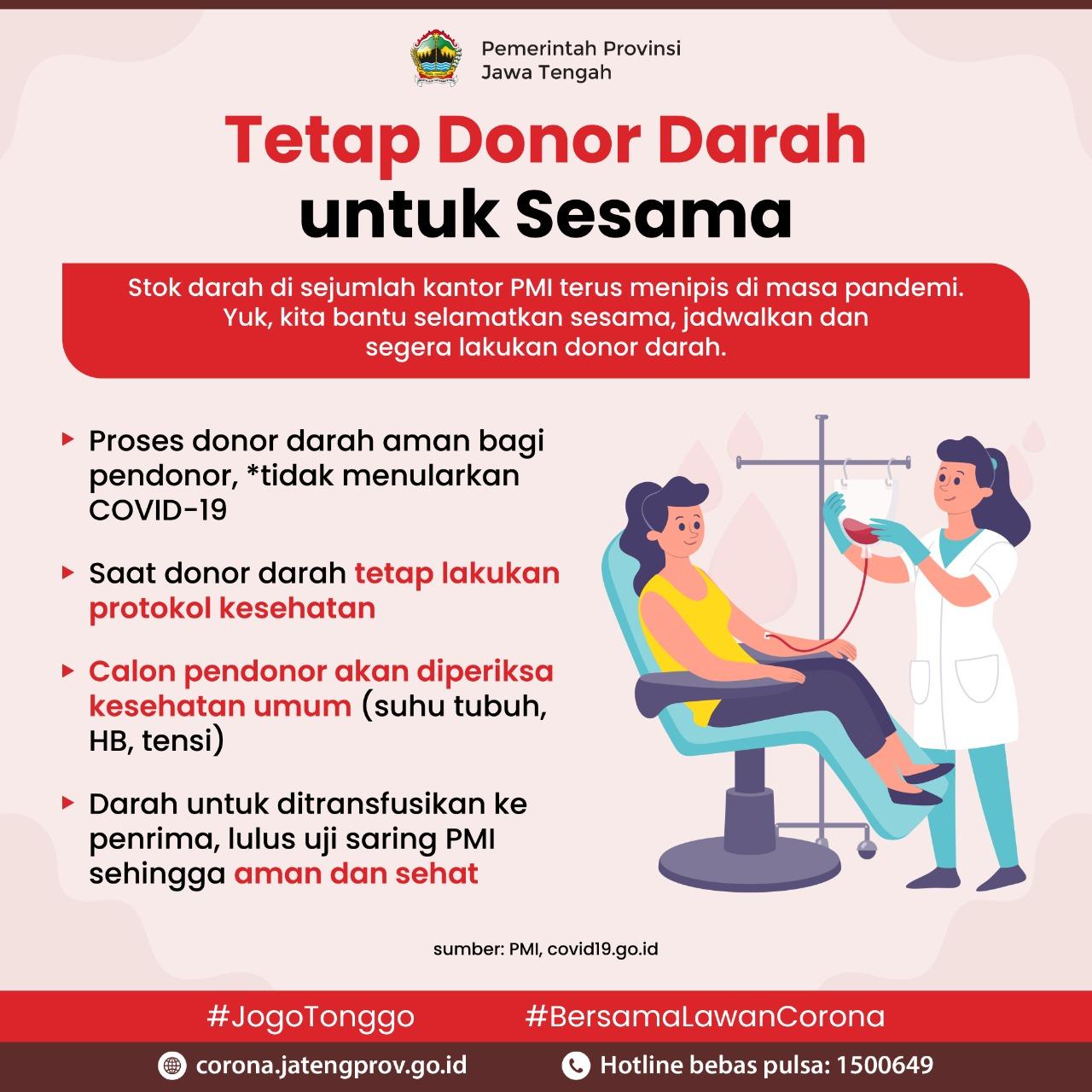 Tetap Donor Darah