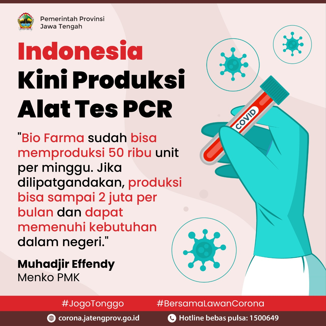 Indonesia Bikin PCR