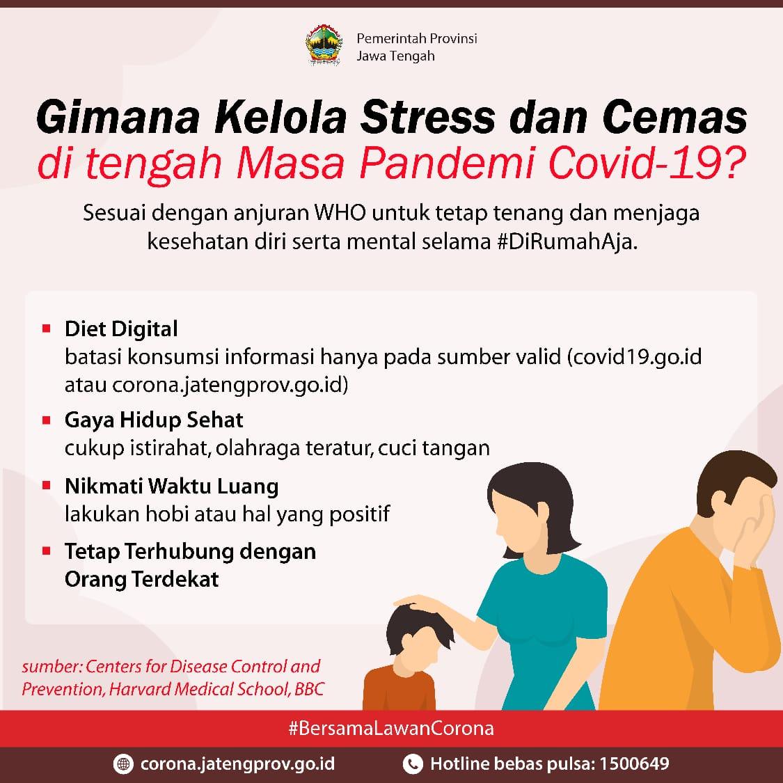 Hindari Stress di Masa Pandemi