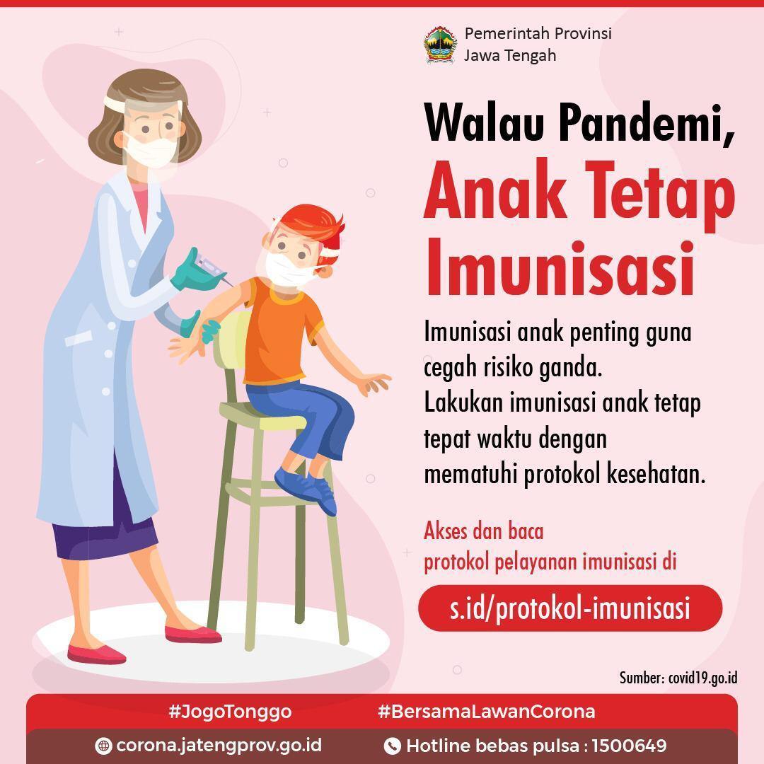 Tetap Imunisasi, Walau Pandemi