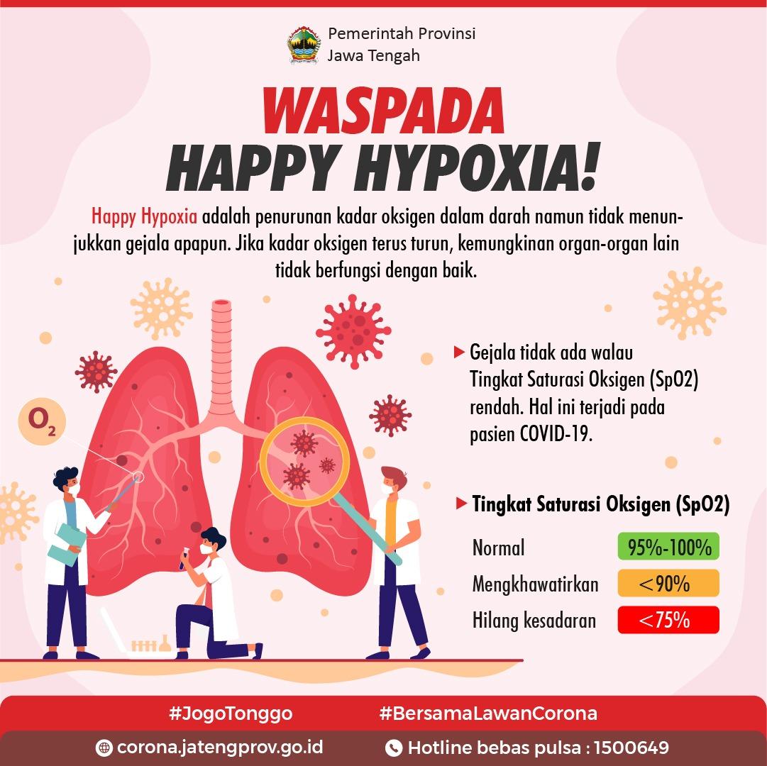 Waspada Happy Hypoxia!