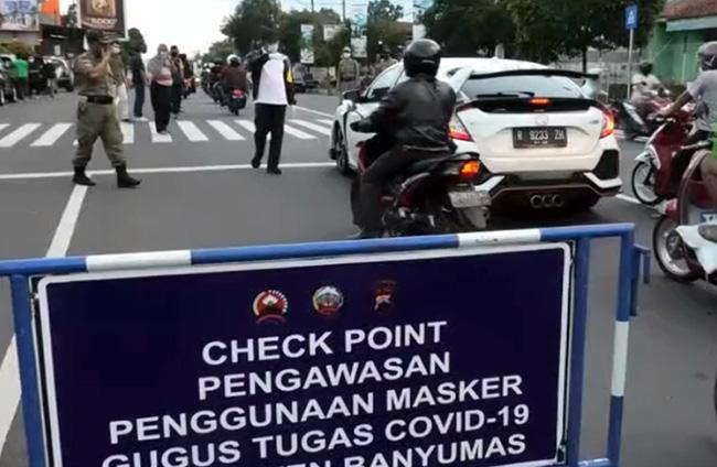 Sanksi Tak Gunakan Masker Mulai Diterapkan di Jawa Tengah