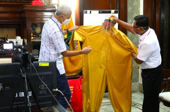 Hebat, Warga Binaan Jateng Buat APD untuk Bantu Para Tenaga Medis